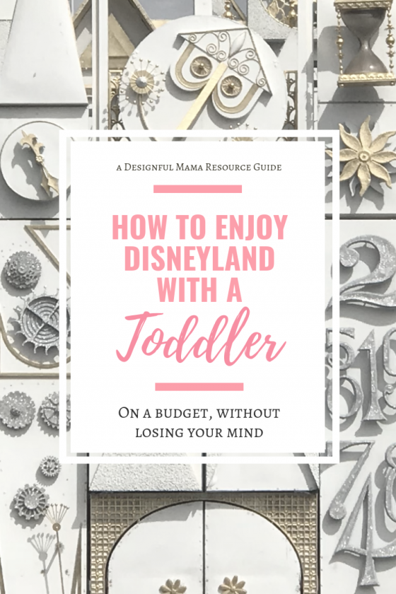 This is the guide I used to plan our Disneyland trip with a toddler and it was sooo helpful! We were prepared and had an awesome time!